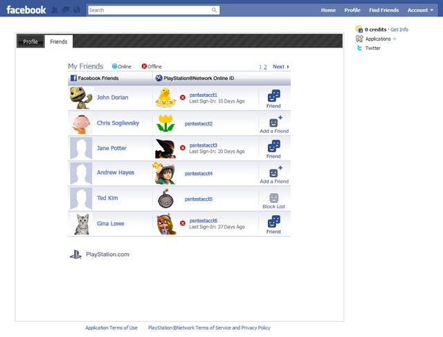 can someone tell how do i put my psn id card on my facebook