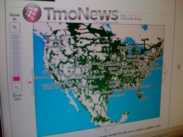 New T-Mobile Coverage Map