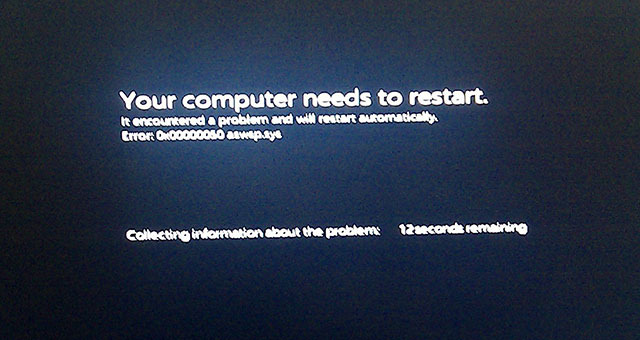 Windows 8 M3 out-of-box experience and BSOD screenshots surface