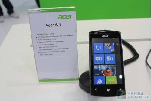 Acer W4 Phone