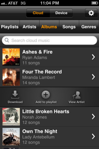 Amazon Cloud music player debuts in App Store - Neowin