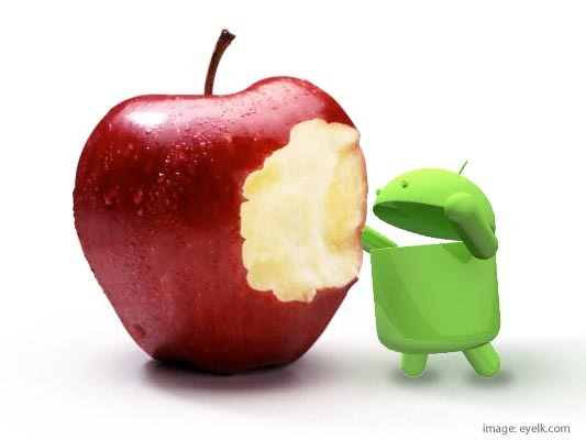 Android browser 52% faster than iOS Safari in browsing speed