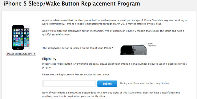 sleep wake button iphone 5 apple launches free sleep button replacement 18020