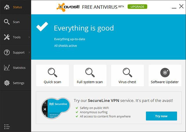 best free antivirus 2014