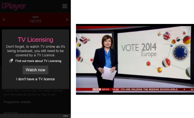 BBC iPlayer app on Windows Phone gets major update with live