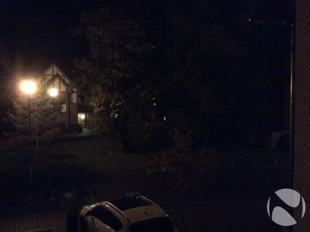 foto de noche ipad air