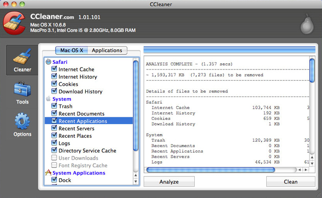 ccleaner for mac free version