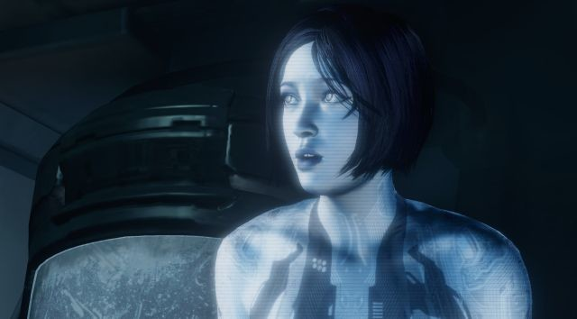The Halo franchise's Cortana A.I. assistant