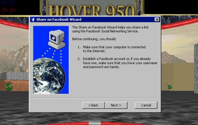 Want to see how Facebook and Twitter look in Windows 95? You
