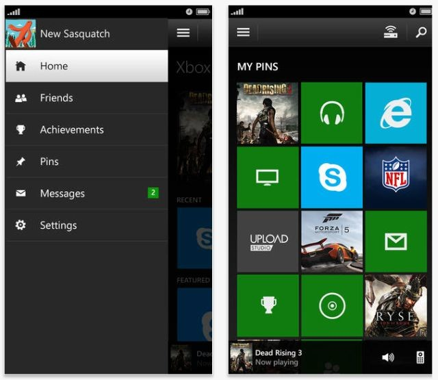 SmartGlass for Xbox One apps for iOS and Android released - Neowin
