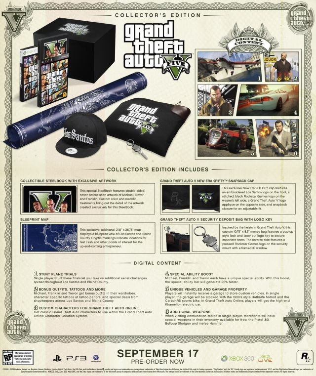 Grand Theft Auto V Special Edition and Collector's Edition announced Collectors-fullcc