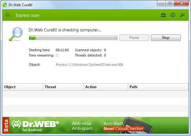 Dr web cureit 8 0 6
