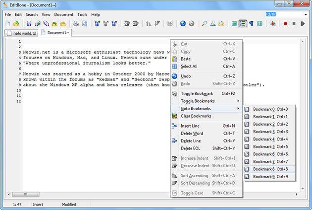 EditBone 8.3.0