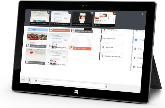 Mozilla  Finally  Releases Beta Of Its Touch