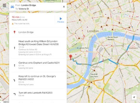 Google Maps 2 0 hits iOS devices, comes with new and