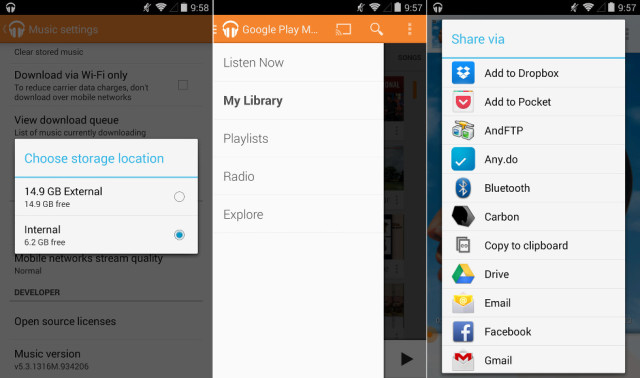 google play music add music from sd