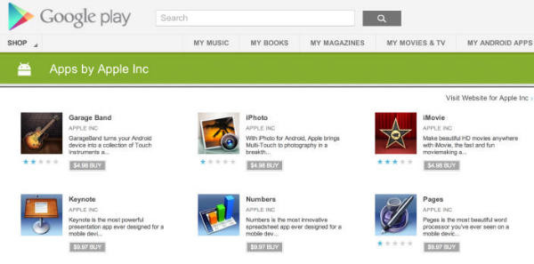 Fake Apple apps hit Google Play - Neowin