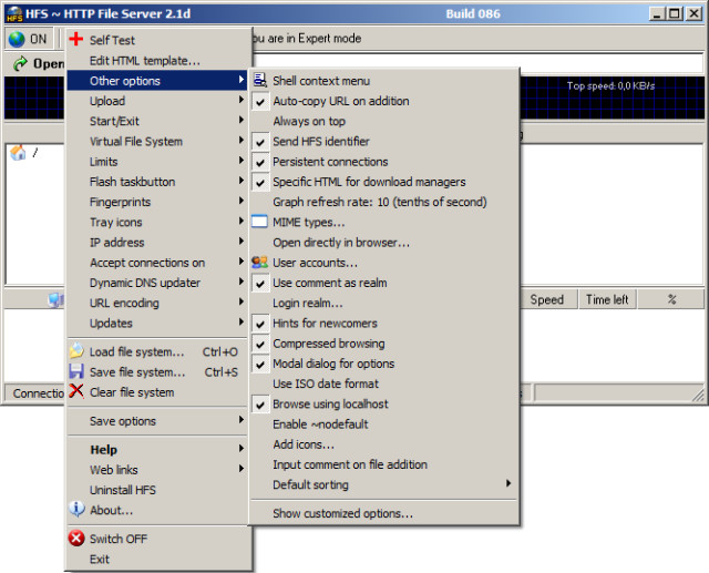 Hfs http file server 23g build 295 neowin hfs http file server pronofoot35fo Gallery
