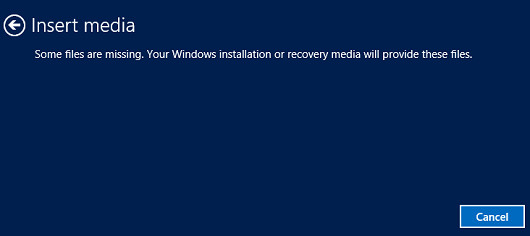 Some Windows 8 1 users don't have any reset or refresh options, but