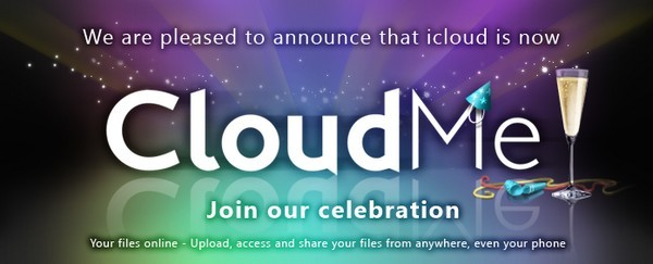 Image showing the revamp of Xcerion's iCloud into CloudMe.