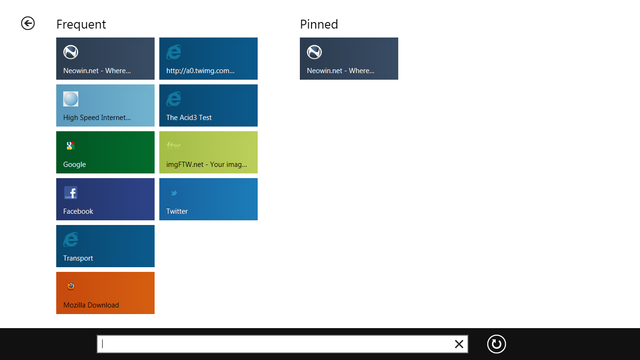 Windows 8: A look at Internet Explorer 10 - Neowin