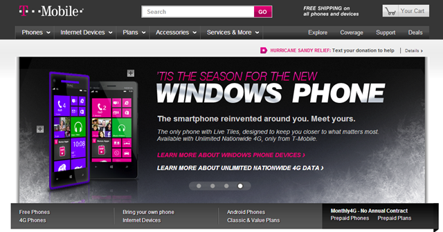 T-Mobile starts taking orders for Windows Phone 8 devices - Neowin
