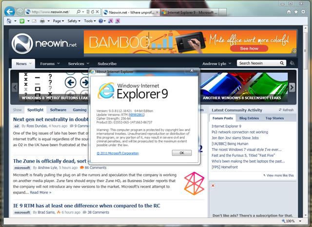 ie9 windows 7 download offline