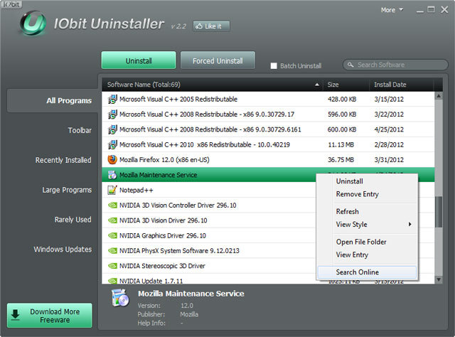 Iobit uninstaller for 64-bit - 4