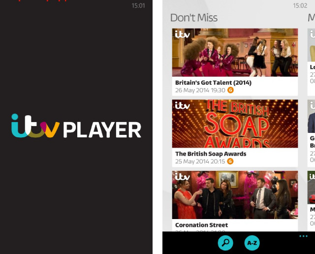 ITV Player launches on Windows Phone - Neowin