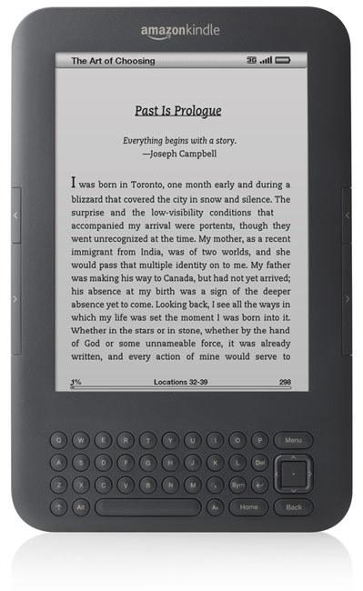 Amazon's new Kindle e-reader (Credit: Amazon)