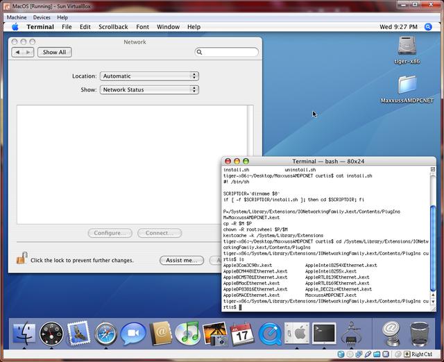 osx guest in virtualbox