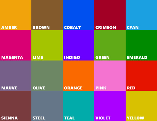Couleur des tuiles windows 8