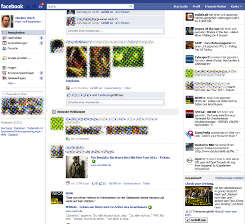 Facebook testing new homepage design Neowin