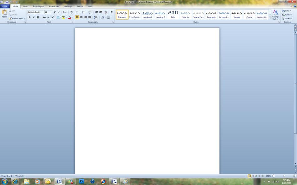Как сделать скриншот word