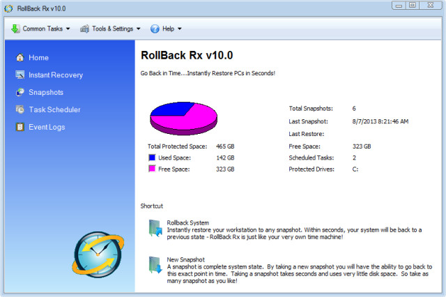 ������ ��� �������� ������ [Rollback Rx 10.2 Build 2699483149]