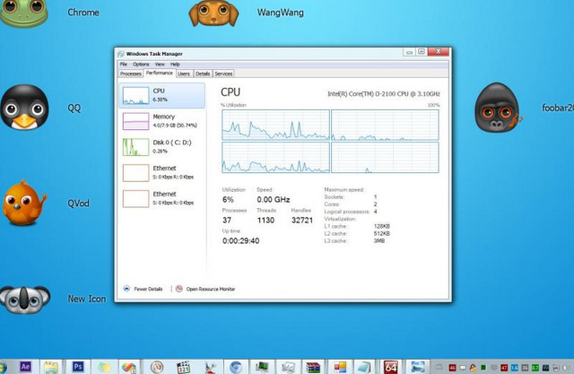 Win8 task manager for Win7