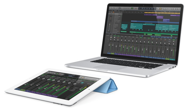 Logic Pro X and Logic Remote Accompaniment - Source: Apple