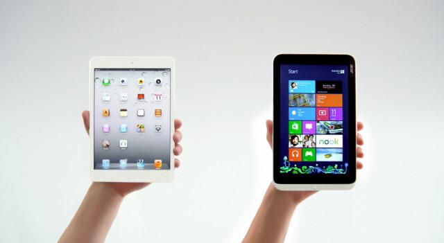 Microsoft targets iPad Mini by highlighting an awful ...