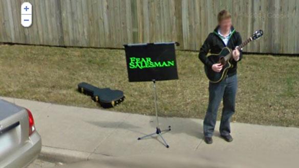 sk streetview band Street view тоже можно использывать в партизанском маркетинге