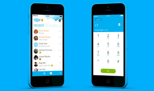 Skype's new Windows Phone-style iPhone app is available now