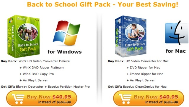 WinXDVD Back to School Sales and Giveaway - Neowin