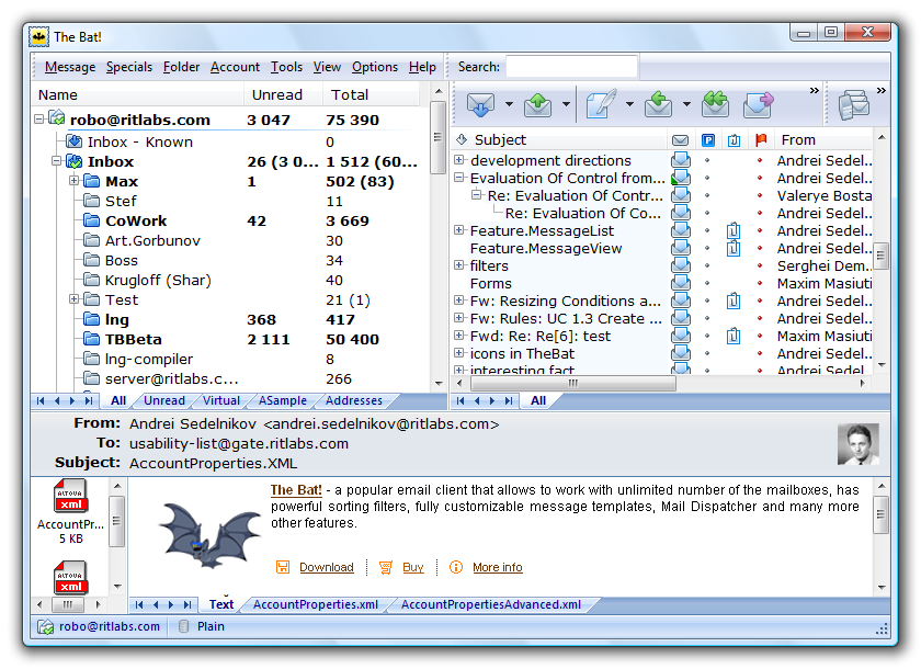 The bat professional edition 6.0.6 final 2016 pc repack portable by kpojiuk