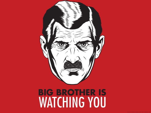 big brother isnt watching you essay Ross essay contest it isn't necessarily big brother, but somebody is potentially watching, virtually all the time by martha neil.
