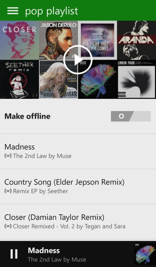 Microsoft updates Xbox Music for Android