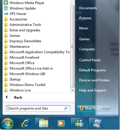 windows 7 demo toolkit