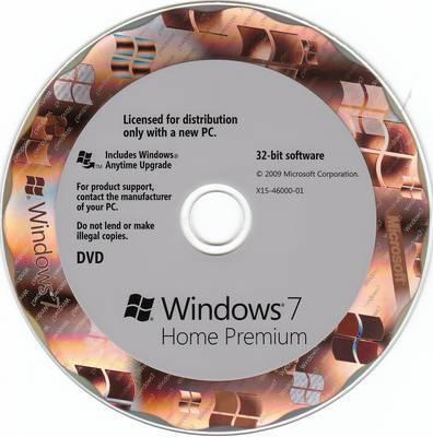 windows 7 home premium cd