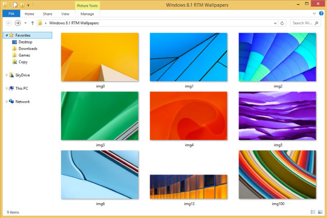 Download The Official Wallpapers From The Windows 81 Rtm