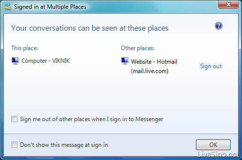 hotmail  messagenger