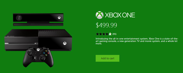 most major online retailers see replenished xbox one stock following